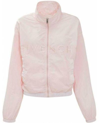 Joggery z haftem - różowe Givenchy