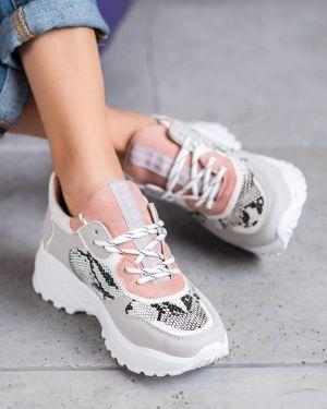 Sneakersy skorzane oversize Mckeylor