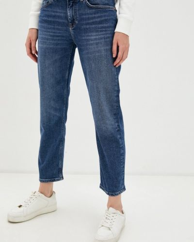 Прямые синие прямые джинсы Gant
