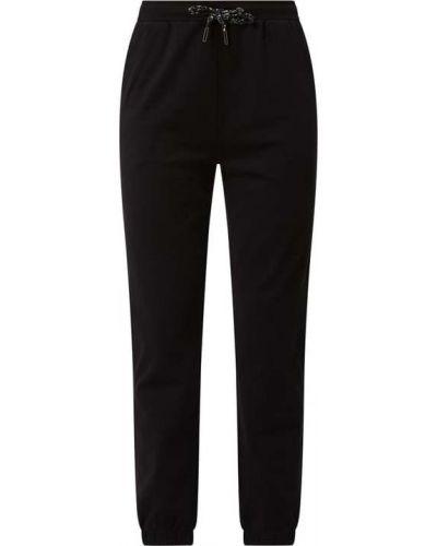 Spodnie dresowe bawełniane - czarne S.oliver Red Label