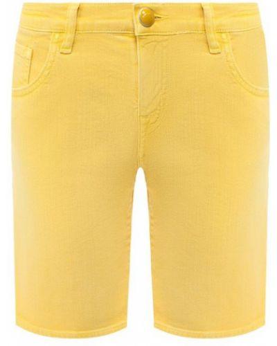Джинсовые шорты желтый Jacob Cohen
