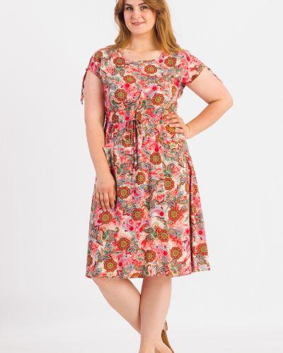 Теплое платье с карманами с принтом Lacywear