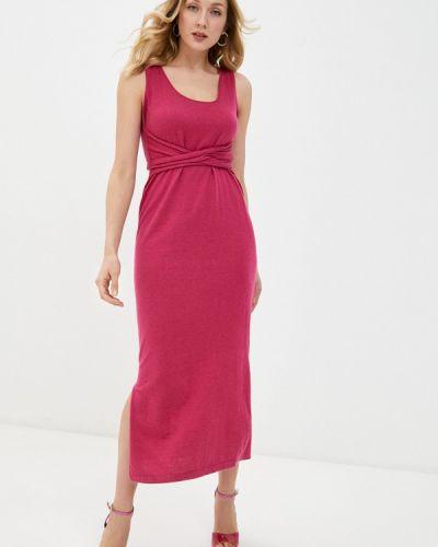 Розовое платье Rodier