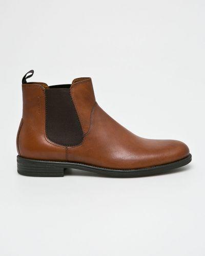 Кожаные ботинки высокие Vagabond