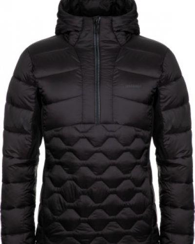Черная утепленная пуховая куртка Madshus