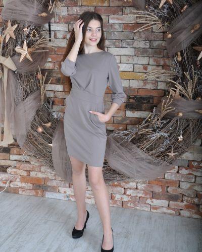 Повседневное платье с поясом с карманами Lovitton