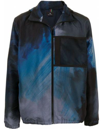 Длинная куртка с принтом с воротником с капюшоном Paul Smith