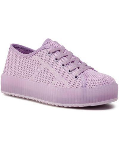 Fioletowe sneakersy Nelli Blu