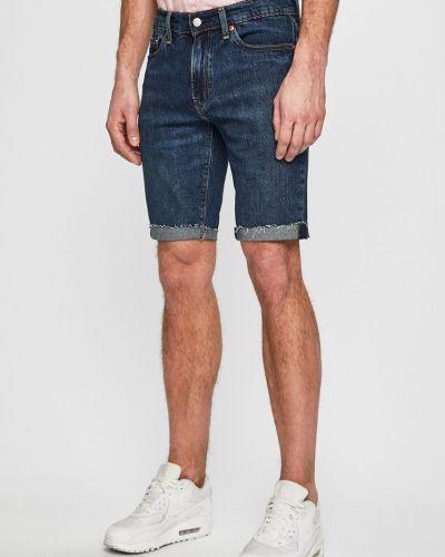 Джинсовые шорты с карманами темно-синий Levi's®