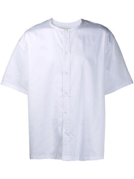 Biała koszula krótki rękaw bawełniana Goodfight