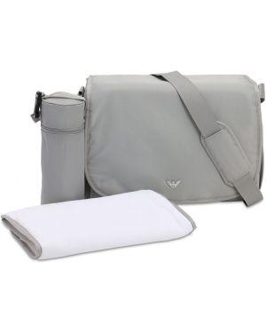 Plecak z łatami Emporio Armani