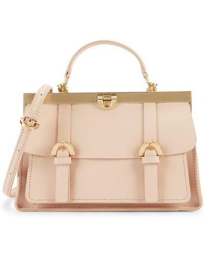 Кожаный ранец с карманами Zac Zac Posen