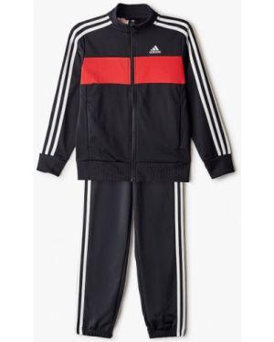 Спортивный костюм черный костюмный Adidas