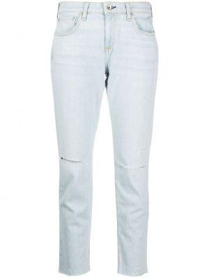 Klasyczne niebieskie jeansy z wysokim stanem Rag & Bone