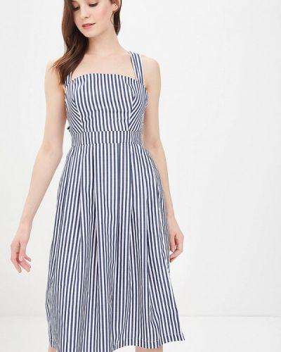 Синее платье весеннее Tutto Bene