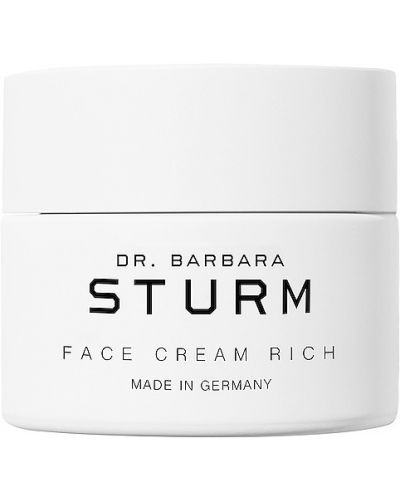 Кожаный бежевый крем для лица увлажняющий Dr. Barbara Sturm