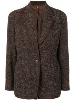Нейлоновая черная куртка с манжетами Romeo Gigli Pre-owned