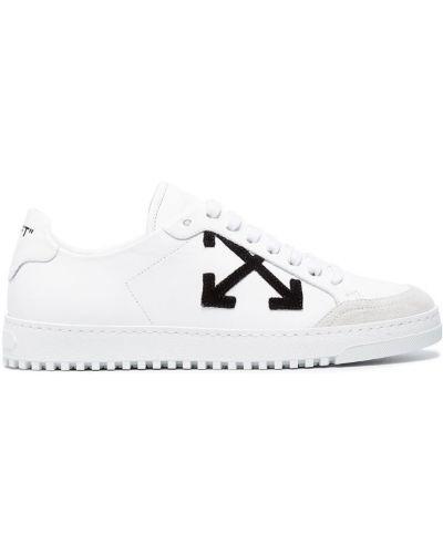 Белые кроссовки Off-white