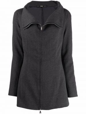 Серая шерстяная куртка Gianfranco Ferre Pre-owned