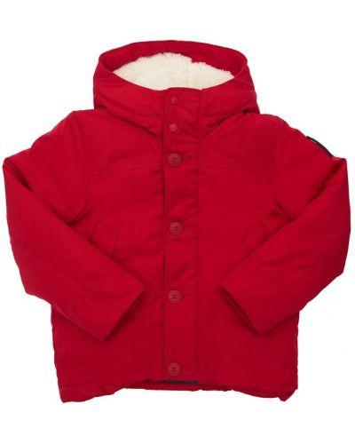 Красная куртка на пуговицах Bomboogie