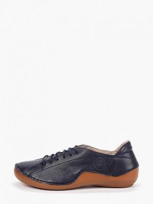 Кожаные ботинки кожаные синий Airbox