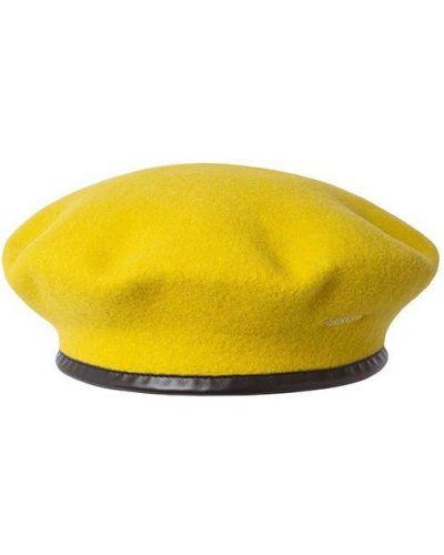 Желтый берет Kangol
