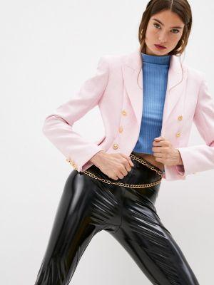 Розовый пиджак Chiara Ferragni Collection