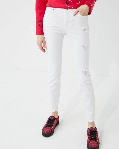 Белые джинсы-скинни Armani Exchange