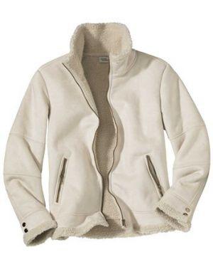 Утепленная куртка замшевая на молнии Atlas For Men
