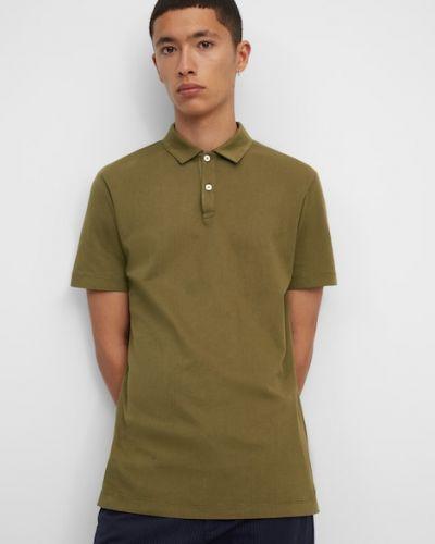 Brązowa koszulka bawełniana Marc O Polo