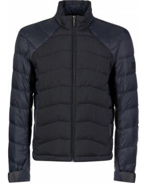 Куртка из полиэстера - черная Hugo Boss