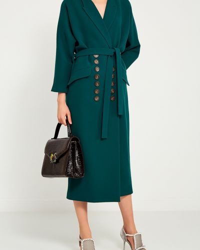 Шерстяное платье - зеленое Alena Akhmadullina