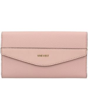 Różowy portfel Nine West