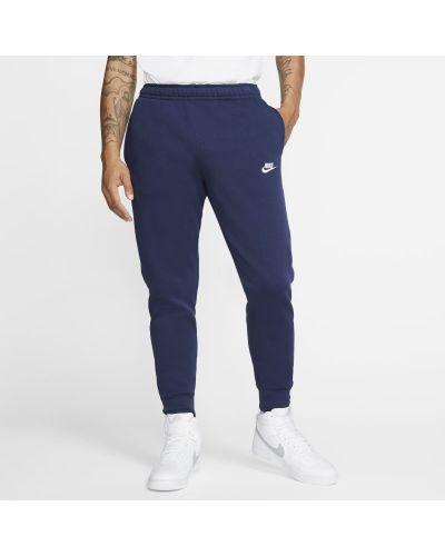 Joggery dzianinowe - niebieskie Nike