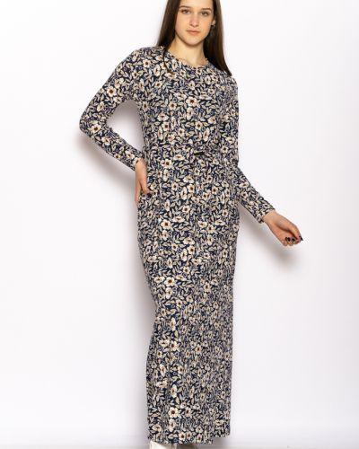 Повседневное платье макси - синее Time Of Style