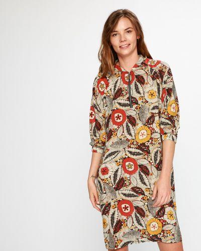Летнее платье миди из вискозы Medicine
