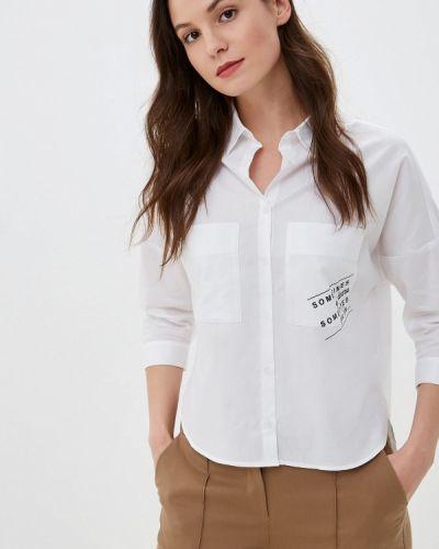 Блузка с длинным рукавом белая весенний Prio
