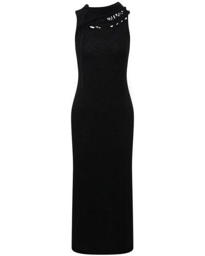 Шелковое платье Yohji Yamamoto