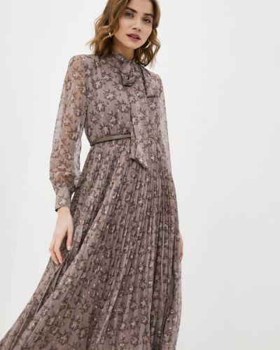 Платье - коричневое Lusio