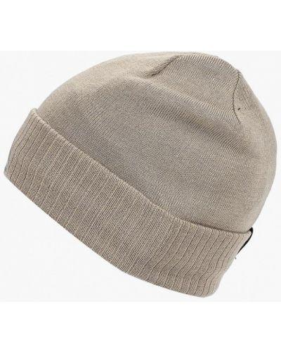 Бежевая шапка осенняя Reebok
