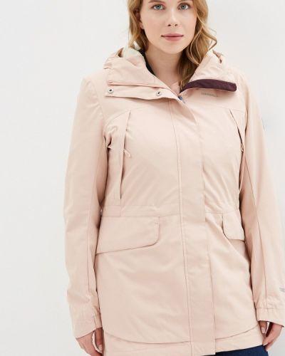 Утепленная куртка осенняя розовая Merrell