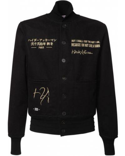 Куртка авиатор - черная Haider Ackermann