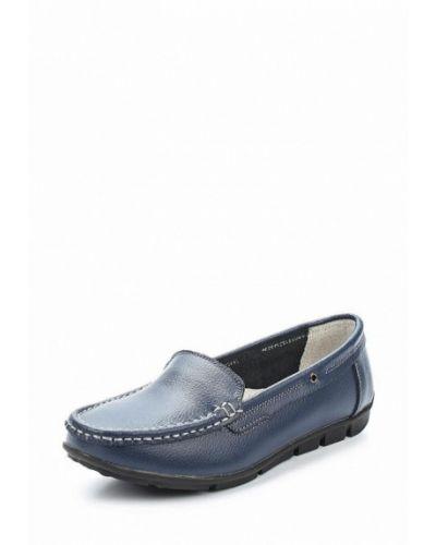 Синие мокасины Zenden Comfort