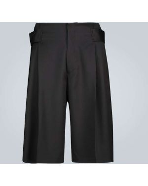 Черные короткие шорты на бретелях Cmmn Swdn