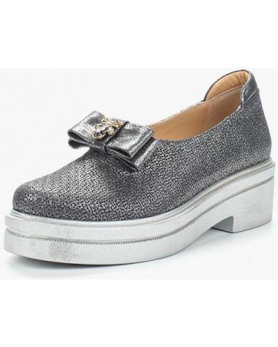 Кожаные туфли на каблуке турецкий Grand Style