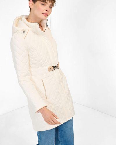 Długi płaszcz z kapturem Orsay