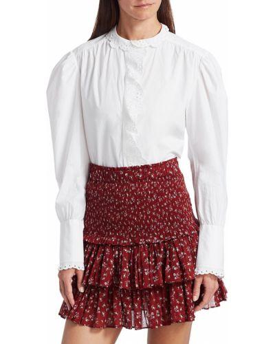 Ażurowa bluzka - biała Isabel Marant Etoile