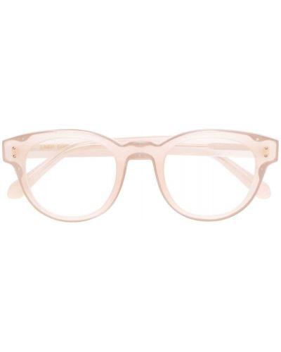 Бежевые очки Linda Farrow
