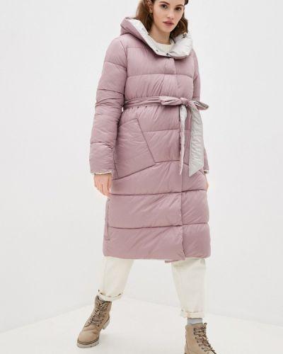 Утепленная розовая куртка Fadjo
