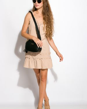 Повседневное платье - бежевое Time Of Style